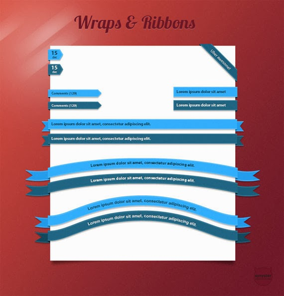 Wraps and Ribbons