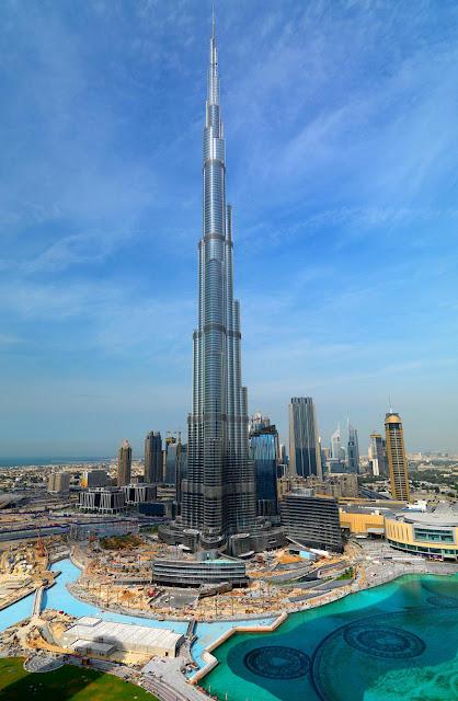 burj+dubai Bandaraya Dubai Yang Menakjubkan