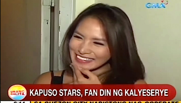 Arny Ross one of ALDUB Celebrity Fan