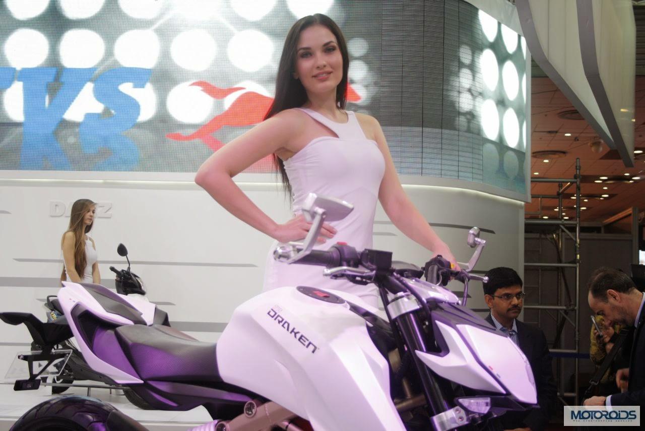 Foto: TVS Draken -X21, Street Fighter Kolaborasi TVS-BMW