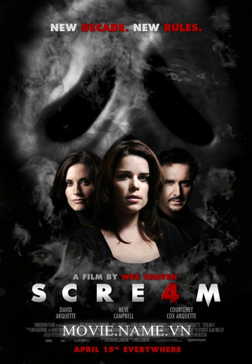 Scream 4 2011 BRRip 650MB Vietsub, Scream 4