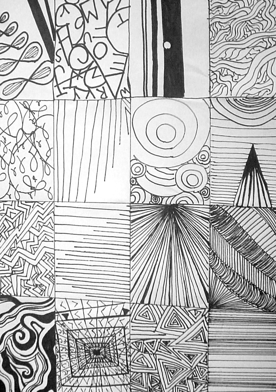 Line Art Patterns : Line art design
