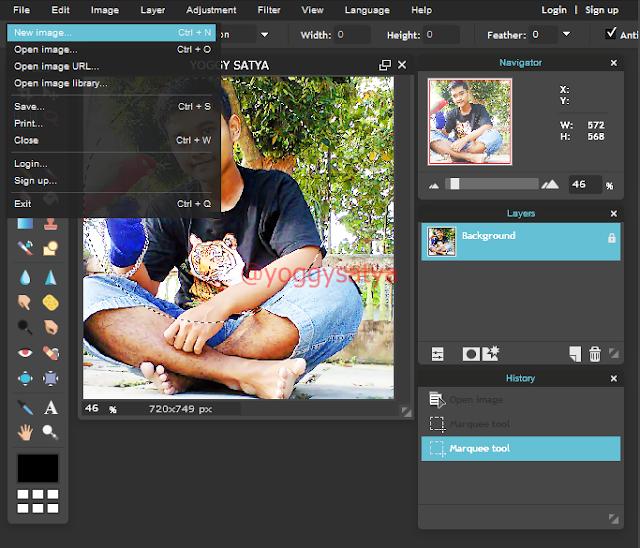 Tips agar Foto about me blogspot menjadi lingkaran