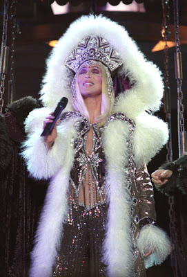 Cher performing the U2 cover during her 'Farewell Tour'