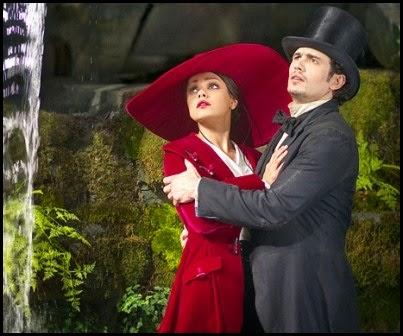 Mila Kunis y James Franco en 'Oz: un mundo de fantasía' (Sam Raimi, 2013)