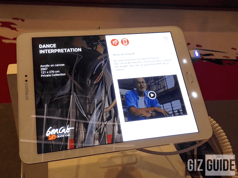 BenCab Interactive Exhibit Launched By Samsung And Yuchengco Museum!