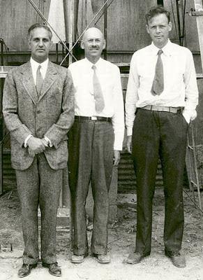 Robert Goddard, Harry Guggenheim & Charles Lindbergh
