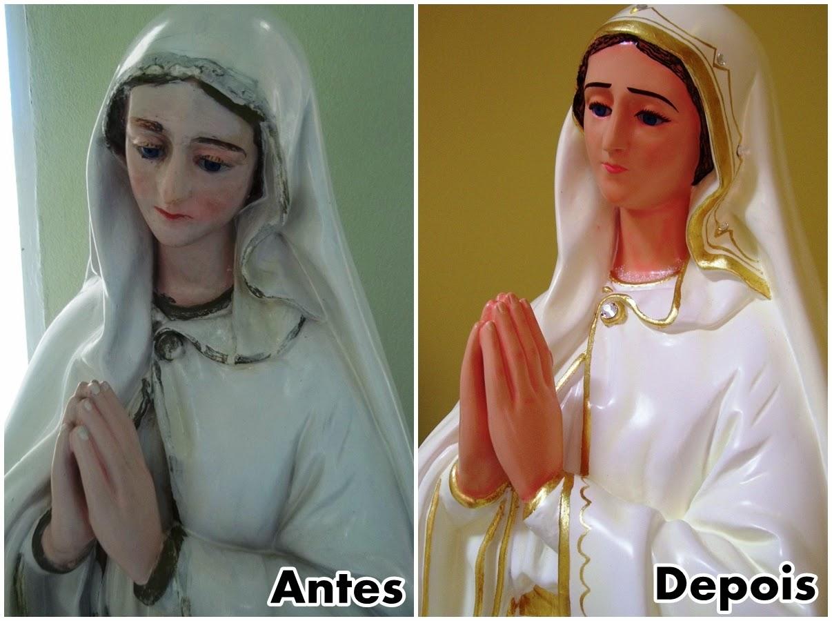 Paroquia de Almino Afonso conclui restauração das Imagens da Igreja Matriz