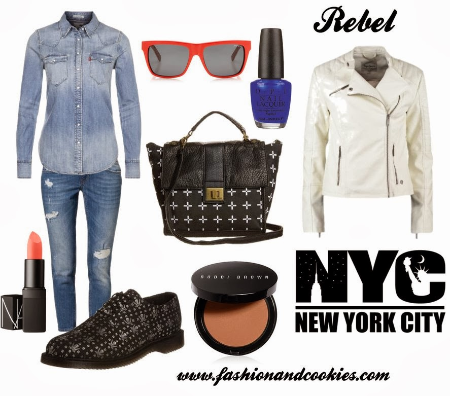 Rebel mood fashion set, Fashion and Cookies, Zalando selection, fashion blogger
