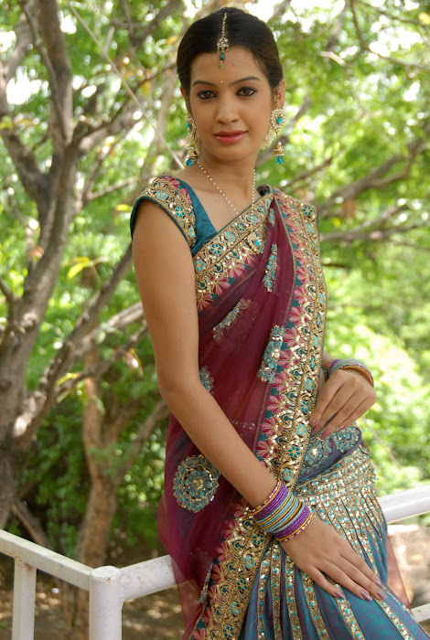 diksha panth new saree , diksha saree photo gallery