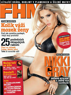 Nikki Gray Hot Photoshoot For FHM Czech