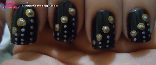 Nail Art Lunares dots