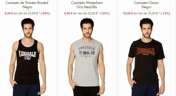 Camisetas hombre mejor precio