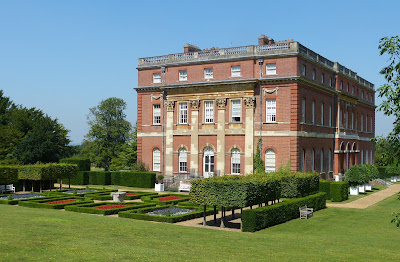 Clandon Park - rear entrance (July 2014) © Andrew Knowles