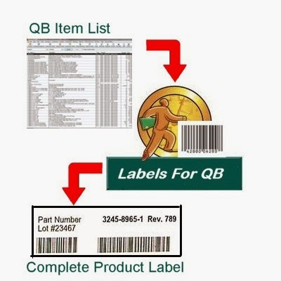 Print labels out of QuickBooks