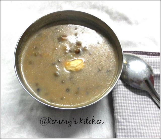 cherupayar payasam / pachai payaru payasam / Green gram kheer