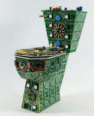 Creative and Cool Ways to Reuse Old Circuit Boards (15) 2