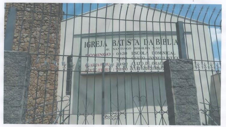 IGREJA BATISTA DA BÍBLIA EM JARDIM SANTO ANTONIO