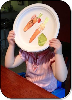 Create a plate to explore healthy meals, or pair it with a book for a themed feast! - www.lifeinrandombits.com