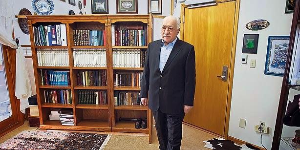 Fethullah Gulen at his residence