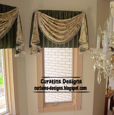 best valance designs green Best 20 valance designs and small curtains for windows   2