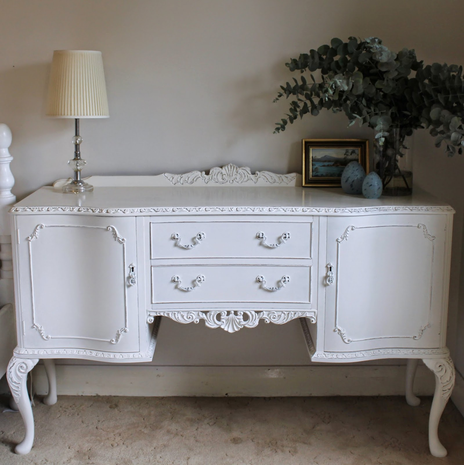 Lilyfield life porter 39 s paint chalk emulsion and a pretty for Painted buffet sideboard