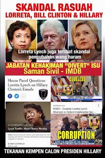 #SKANDAL LORRETA LYNCH PEGUAM NEGARA AS DAN BAGAIMANA LORRETA MENGGUNAKAN JABATAN KEHAKIMAN AS UNTUK SAMAN SIVIL IMDB