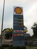 Prezzi benzina e diesel in Svizzera (23/9/2012)
