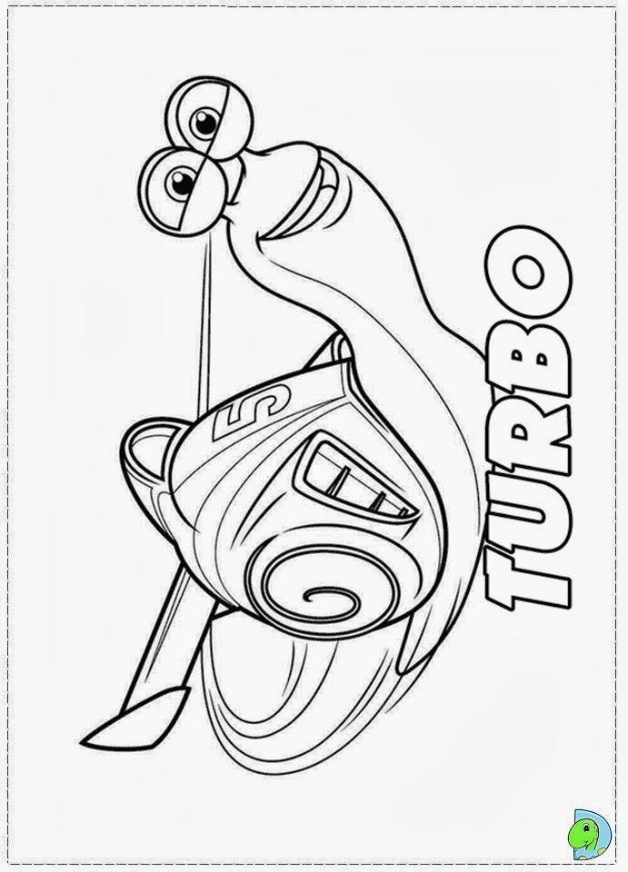 burned turbo snails coloring pages - photo#20