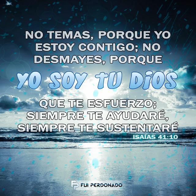 Yo Soy Tu DIOS Isaias 41:10