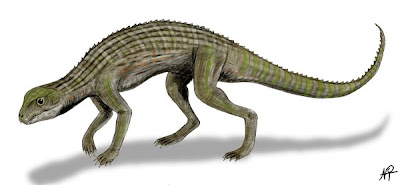 reptiles del cretaceo en America del sur Adamantinasuchus