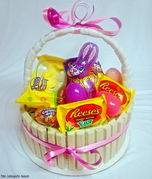 Easter Kit Kat Cake Recipe