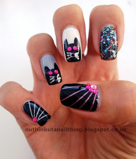 Kitty-cat laser manicure