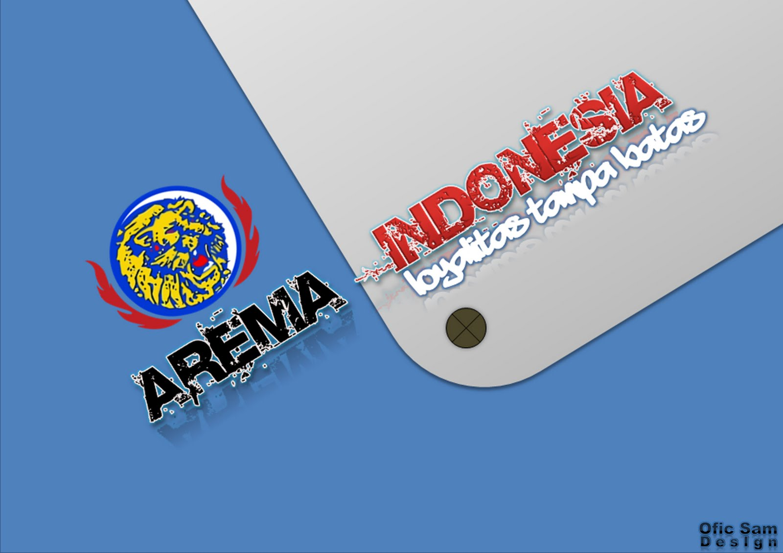 hd wallon  Wallpaper Arema Indonesia 2011