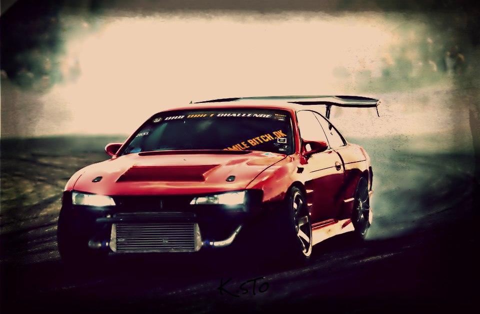 Nissan Silvia S14a , japoński samochód, sportowy, wyścigi, racing, tor wyścigowy, racetrack, motoryzacja, auto, JDM, tuning, zdjęcia, pasja, adrenalina, kultowe, 自動車競技, スポーツカー, チューニングカー, 日本車
