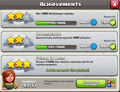 Download free Achievement Clash of Clans