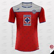 Cruz Azul (Mexico) / HomeAwayThirdGk (cruz azul third)