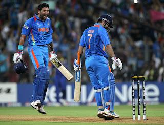 Yuvraj Singh Photos World Cup Final Pics