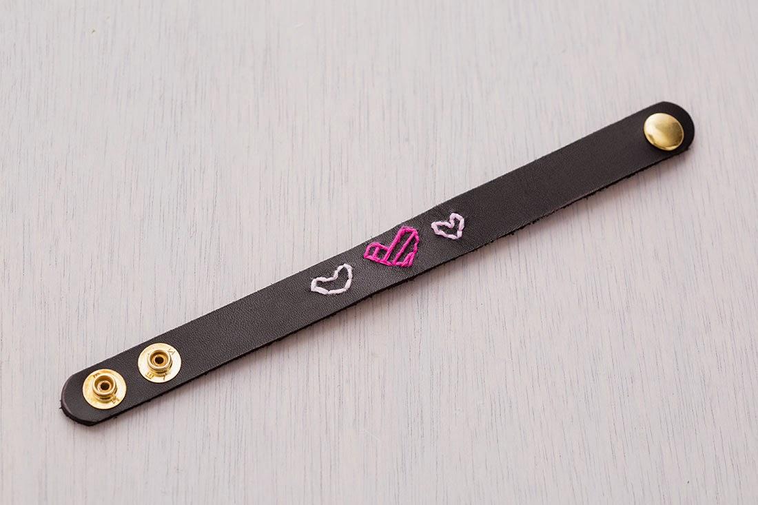 DIY, Pulseras de Cuero para San Valentin