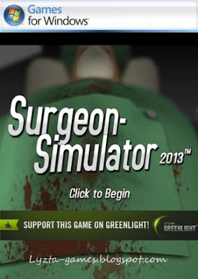 Surgeon Simulator 2013 PC Cover