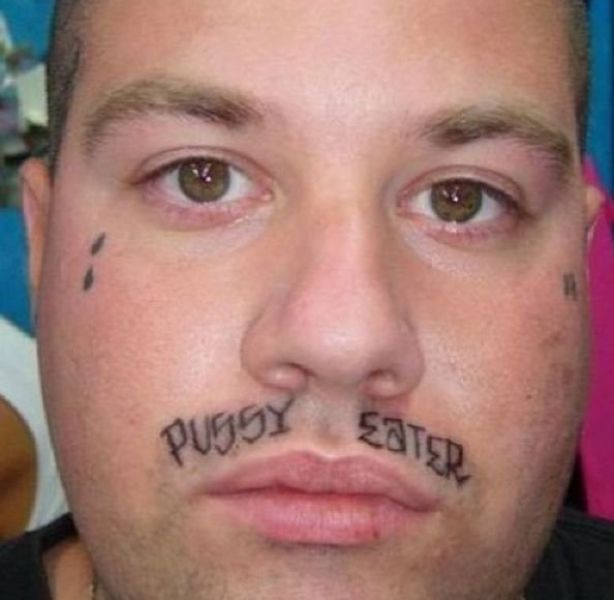 damn cool pictures 30 stupid face tattoos