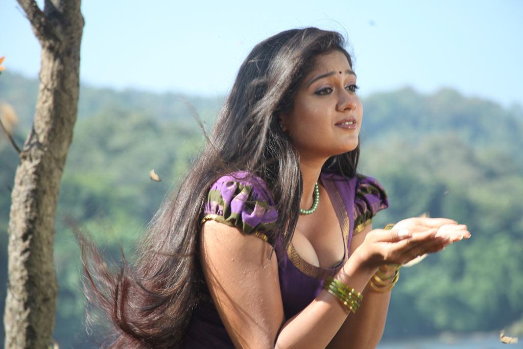 Meghana Raj Long Hair Meghana Raj Jakkamma Hot Stills