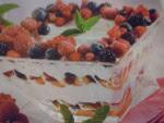 Tiramisù ai Frutti di Bosco Senza Uova