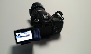 Adarve Producciones Cámara, Canon, 60D, 60, D, visor, viewfinder, parasol, pantalla, monitor, exterior, exteriores,