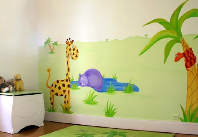 chambre bebe idee peinture ides peinture chambre bb et dcoration - Peinture Chambre Bebe