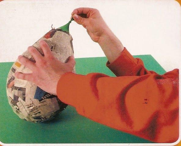 El arte de educar como hacer m scaras con la tecnica del - Como hacer una mascara ...