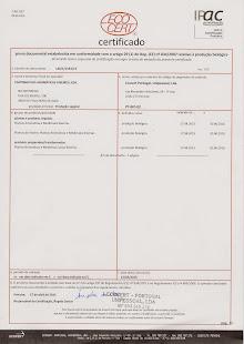 Certificado de Conformidade 2015