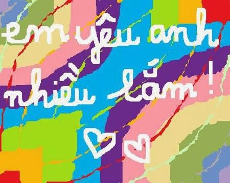 yêu anh thật nhiều
