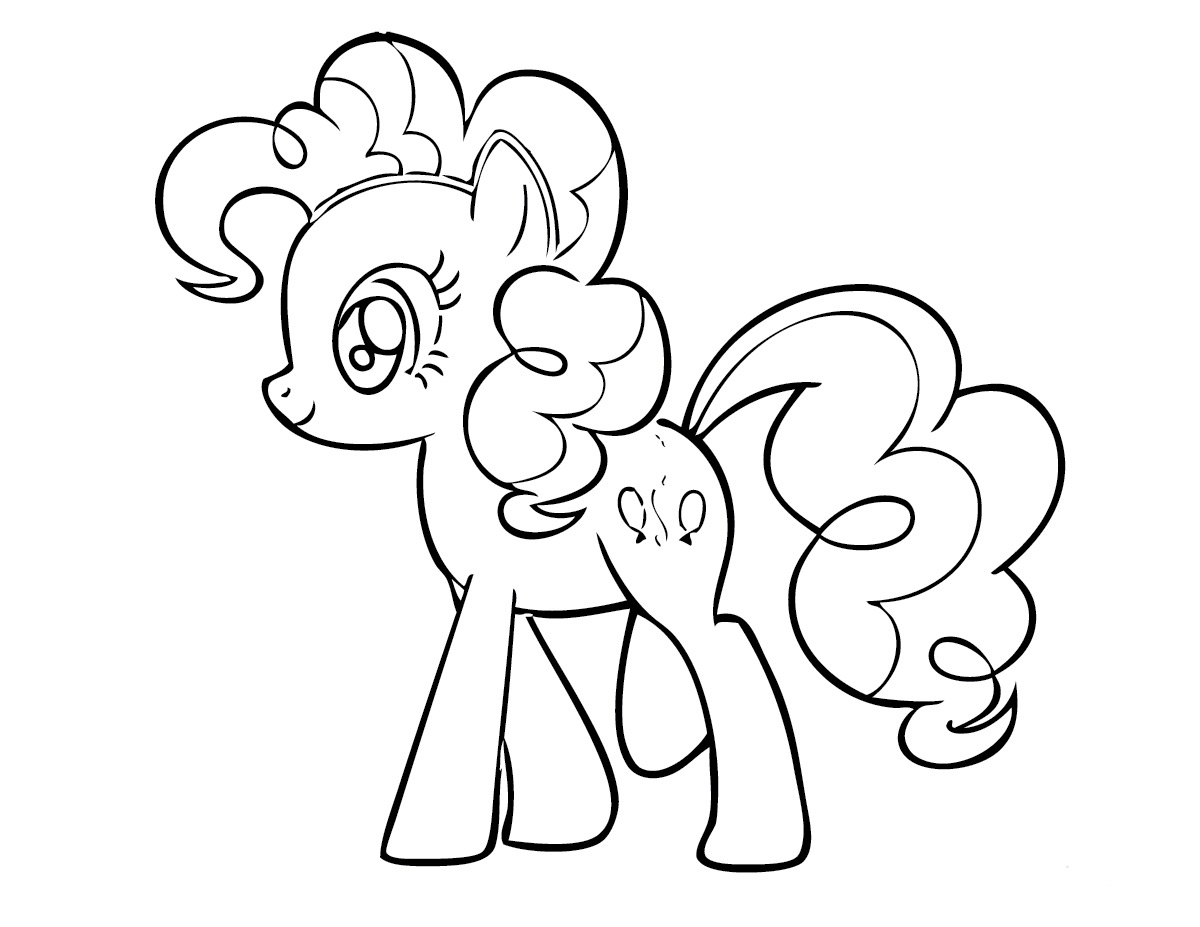 y little pony coloring pages - photo #14