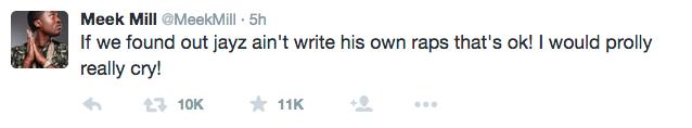 MEEK MILL BLASTS DRAKE FOR NOT WRITING HIS OWN LYRICS!
